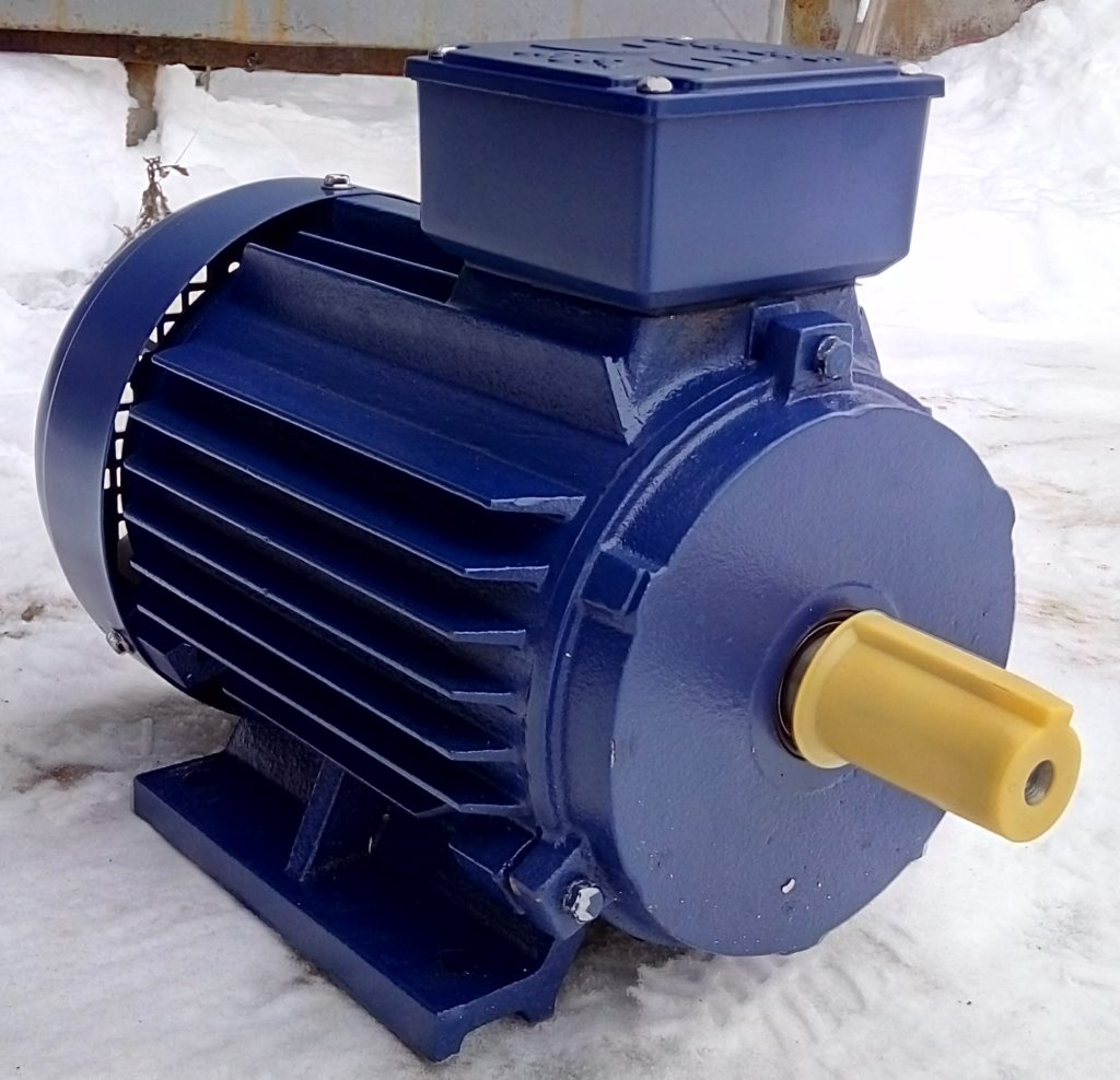 Двигатель АИР90L6 (1.5 кВт.)